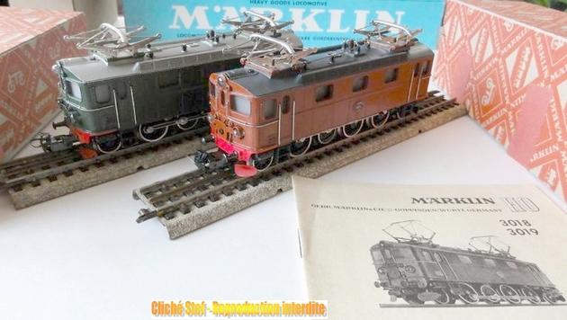 Les machines D/Da/Dm/Dm3 (base 1C1) des chemins de fer suèdois (SJ) 971341Marklin3018R