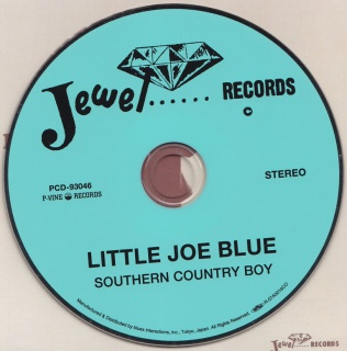 Little Joe Blue - Southern Country Boy (1972) 971802LittleJoeBlueSouthernCountryBoyPVinePCD93046back