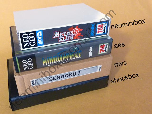 shockbox mvs carton dans shockbox plastique neo geo  possible? 97183643113031