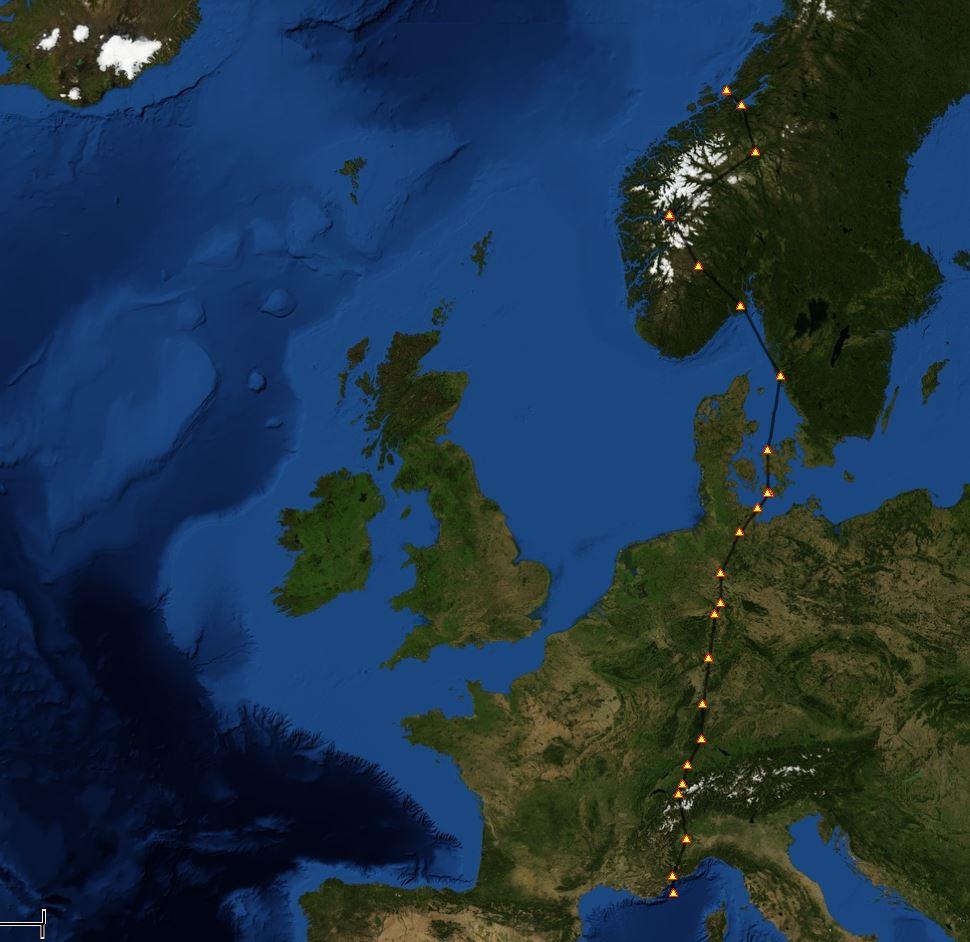 Périple France-Norvège 6 972148881