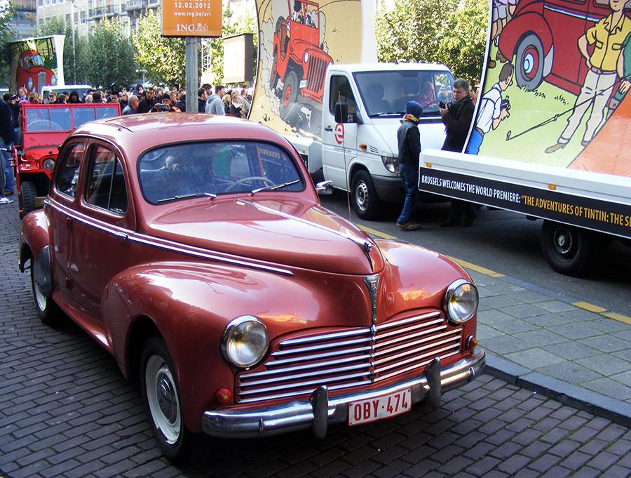 """Bruxelles côté BD  """"Tintin en automobile"""" - Page 2 973171DSCF6250"""