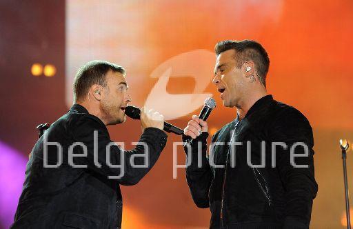 Robbie et Gary au concert Heroes 12-09/2010 97616822291618