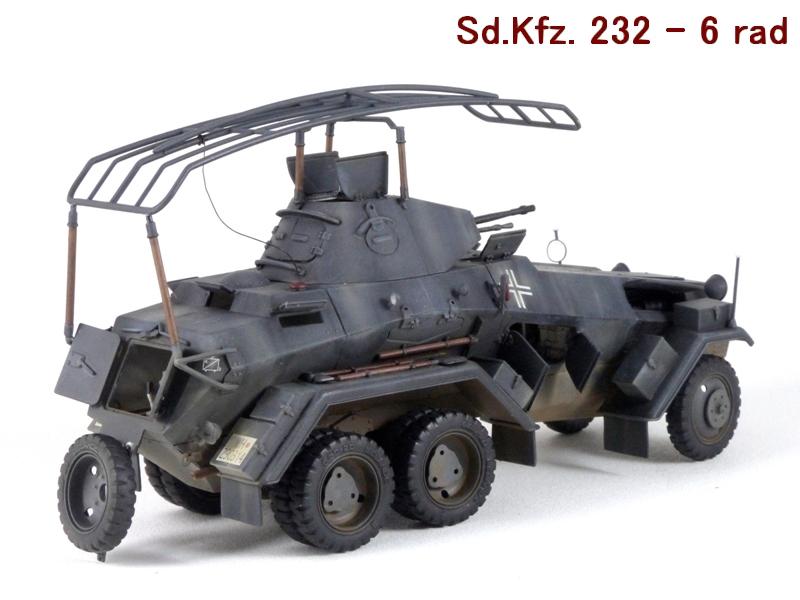 Sd.Kfz. 232 6 Rad - France 1940 - Italeri 1/35 977160P1040083