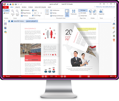 برنامج جديد ومجاني لقراءة الكتب الإلكترونية بصيغة PDF بتقنية 3D على الحاسوب يجعلك تشعر أنك تقرأ كتاب عادي 977410159315751594