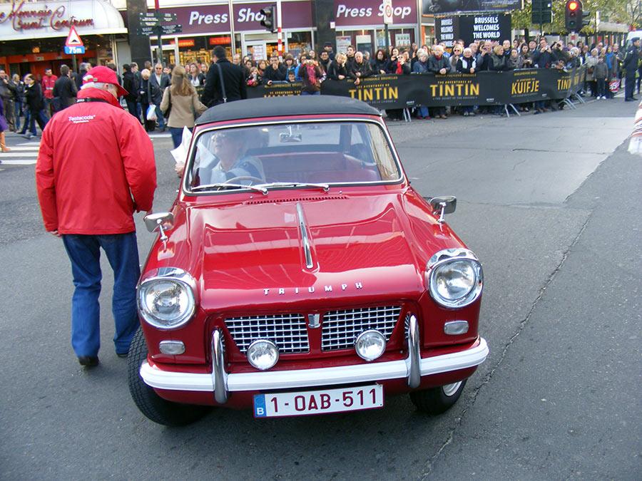 """Bruxelles côté BD  """"Tintin en automobile"""" 978777DSCF6196"""