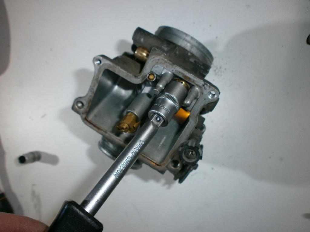 Nettoyage carburateurs de transalp 600 978861P1270032