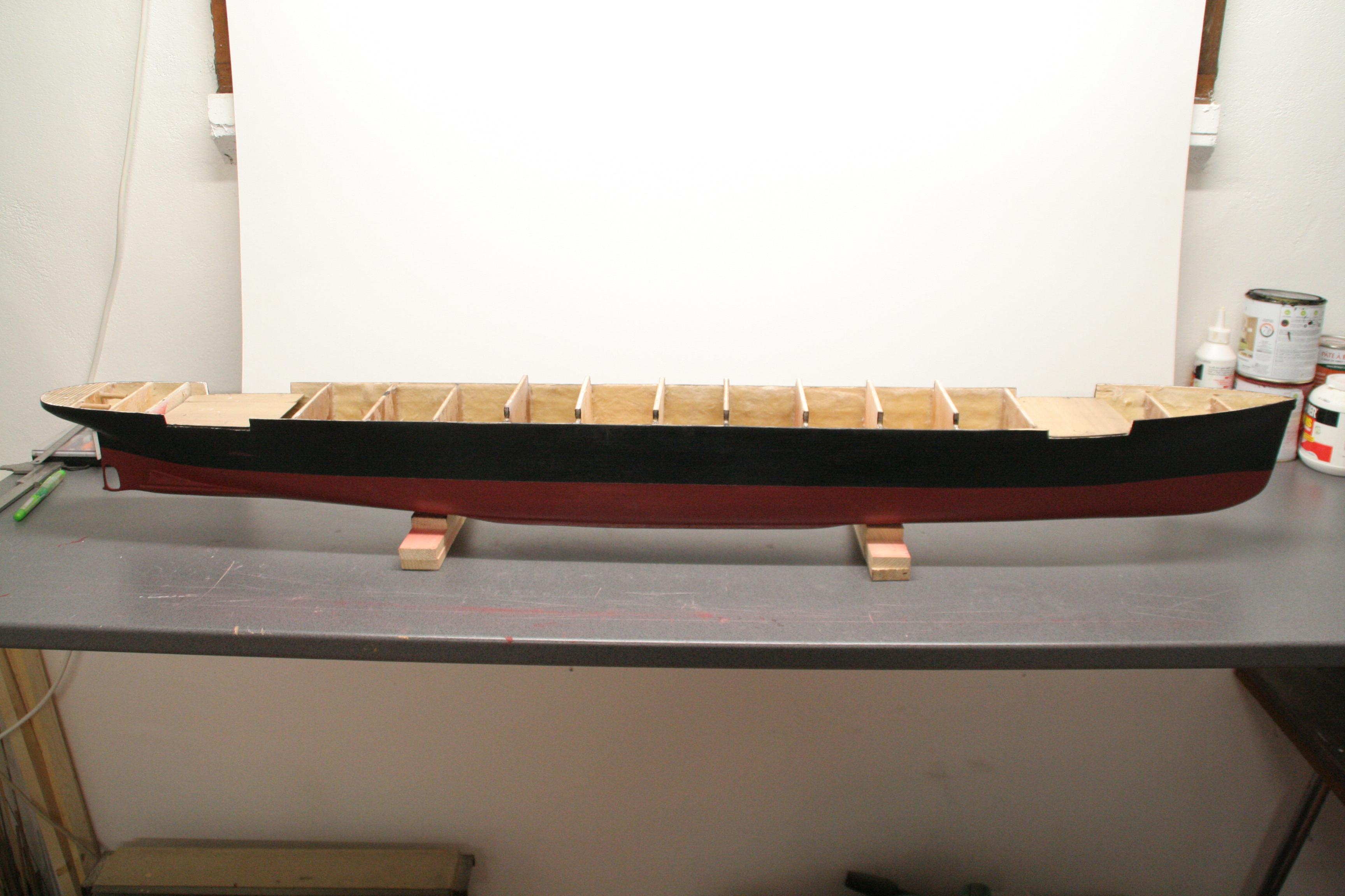 RMS Titanic sur plan   au 1/200 9800139422