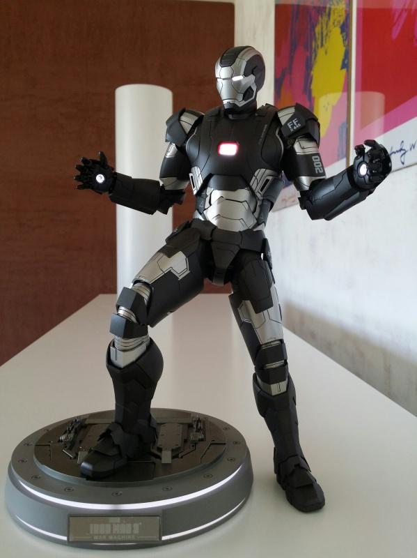 """red360 collec"""": War Machine MKII Diecast Hot Toys 980496201407161611271"""