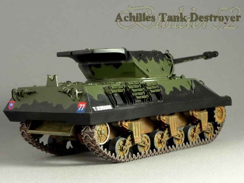 Achilles Tank Destroyer - Academy-Italeri + RB Model + set Blast 1/35 980938P1030828