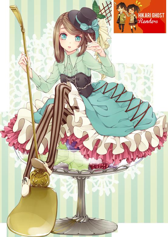 Render anime girl 981571fruitsanimegirlrenderbyhikarighostd7717v2