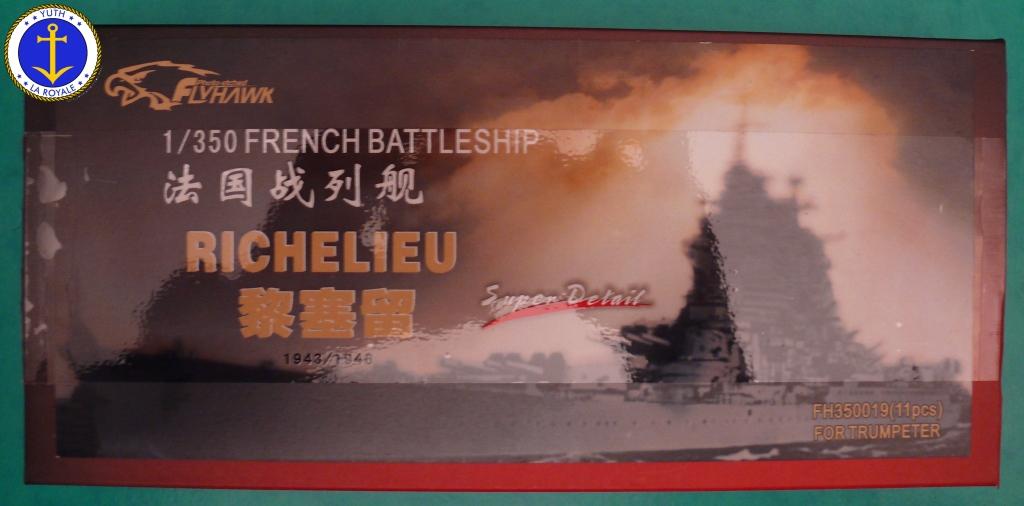 Set Richelieu 1/350 Super Detail FLYHAWK 983583Richelieuflyhawk011