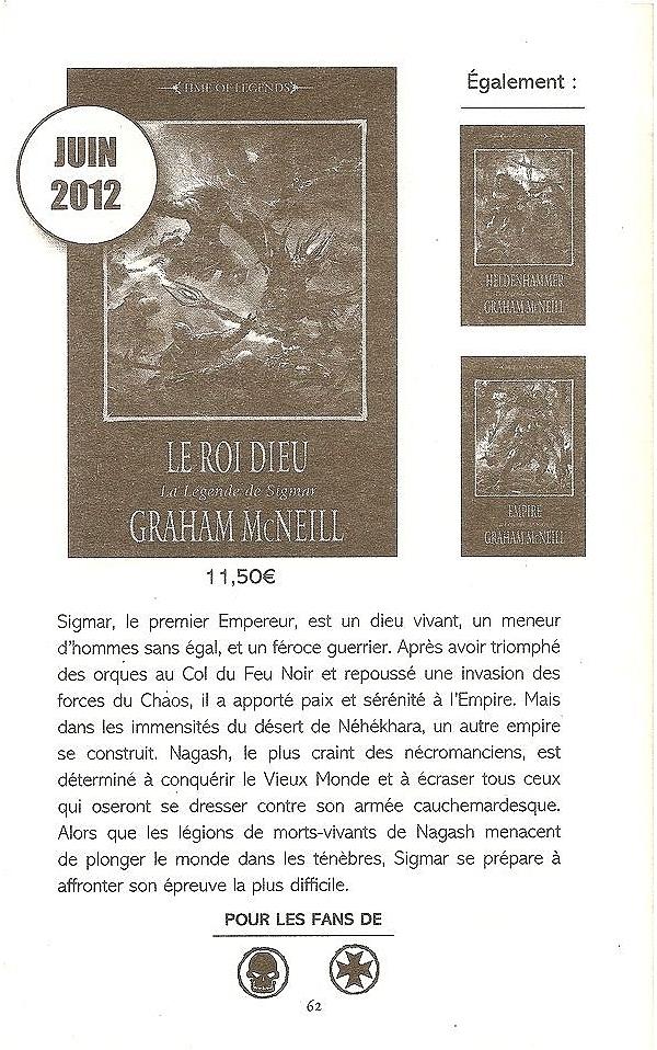 Le Roi Dieu (La Légende de Sigmar T3) de Graham McNeill 983965roidieu1