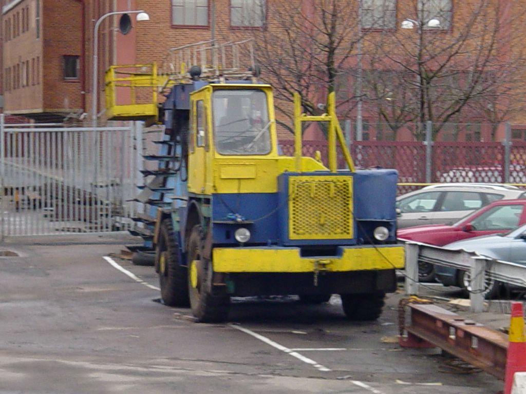 Les camions de manutention Terberg et Mol. 984775Gteborg11II0813