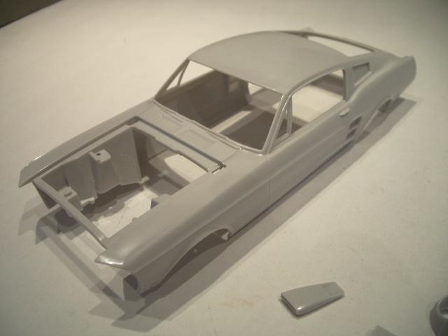 mustang shelby 350 GT 1967  au 1/25 de chez AMT/ERTL  984810IMGP0914