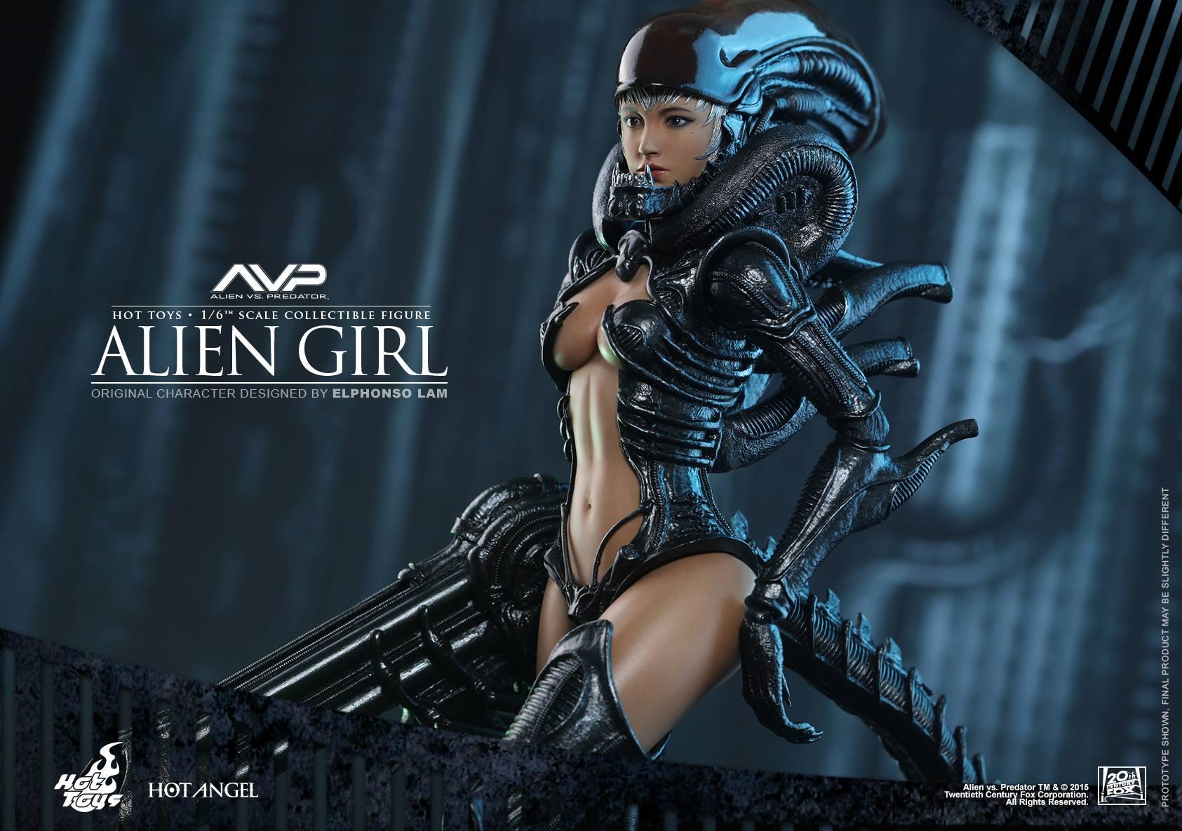 HOT TOYS - AVP - Alien Girl 985444114
