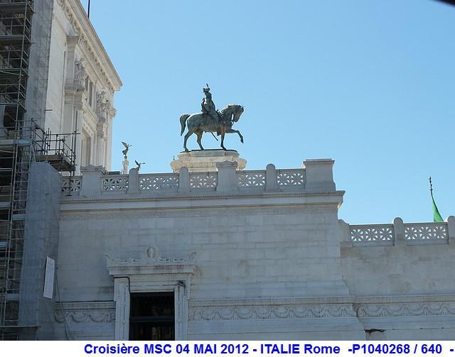 MSC Splendida Du 28 avril au 5 mai 2012 Gêne Barcelone Tunis La valette Taormine Messine Rome 986101P1040268