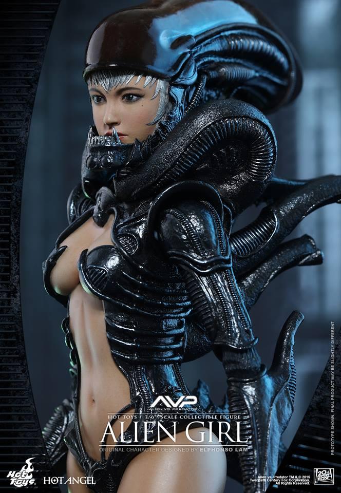 HOT TOYS - AVP - Alien Girl 986294116