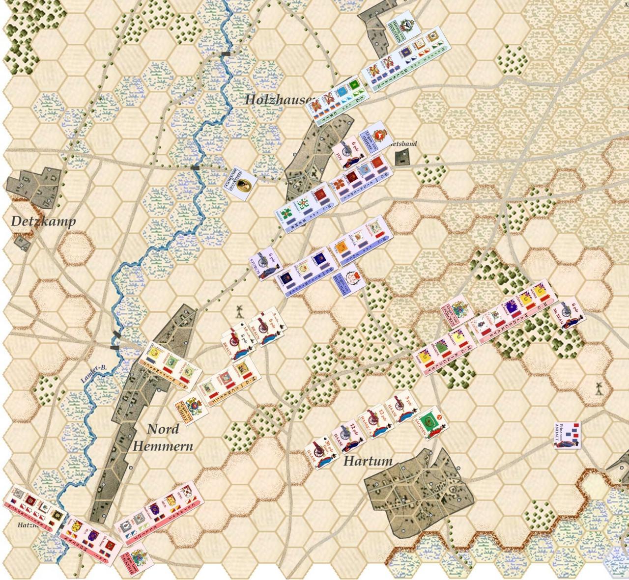 Nouveau Jeu : Bataille de Minden - Page 9 986588Situation0400marcheallis