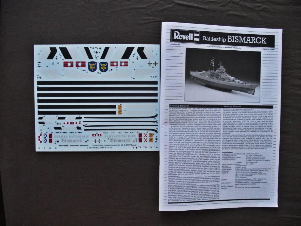 Bismarck Revell au 1/350ème  988528DSCF1003