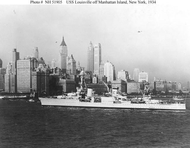 USN CROISEUR LOURD USS WICHITA 988591USSLouisville