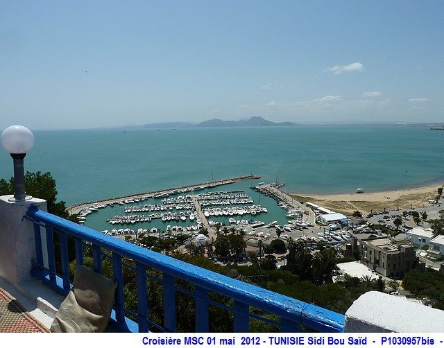 MSC Splendida Du 28 avril au 5 mai 2012 Gêne Barcelone Tunis La valette Taormine Messine Rome 988844P1030957