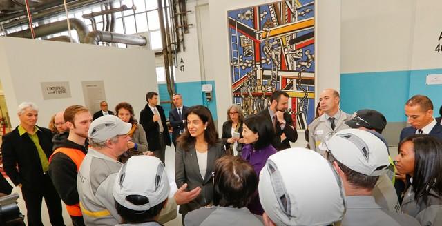L'entreprise à l'œuvre : l'usine de Flins expose « les constructeurs » de Fernand Léger 9890806318116