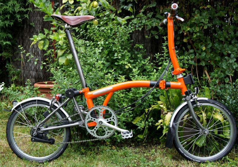 VENDS Brompton S6LX titane orange plus options 1280 EUROS [vendu] 990047brompton014