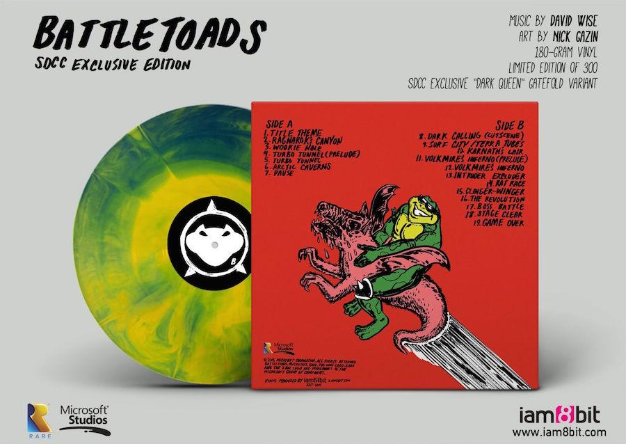 Shenmue et Street Of Rage : Un label va sortir les vinyles en partenariat avec SEGA  990452BATTLETOADSSDCCBACK0