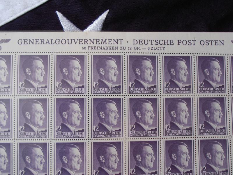 Planche de Timbres Adolf Hitler  990475P8160014