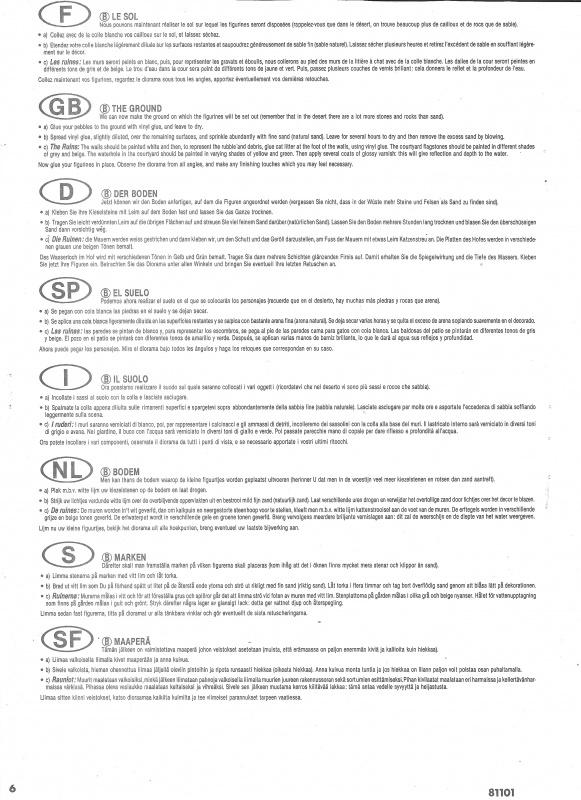 [ Heller ] Diorama Koufra 1/35 990752Heller81101009DioramaKoufra135