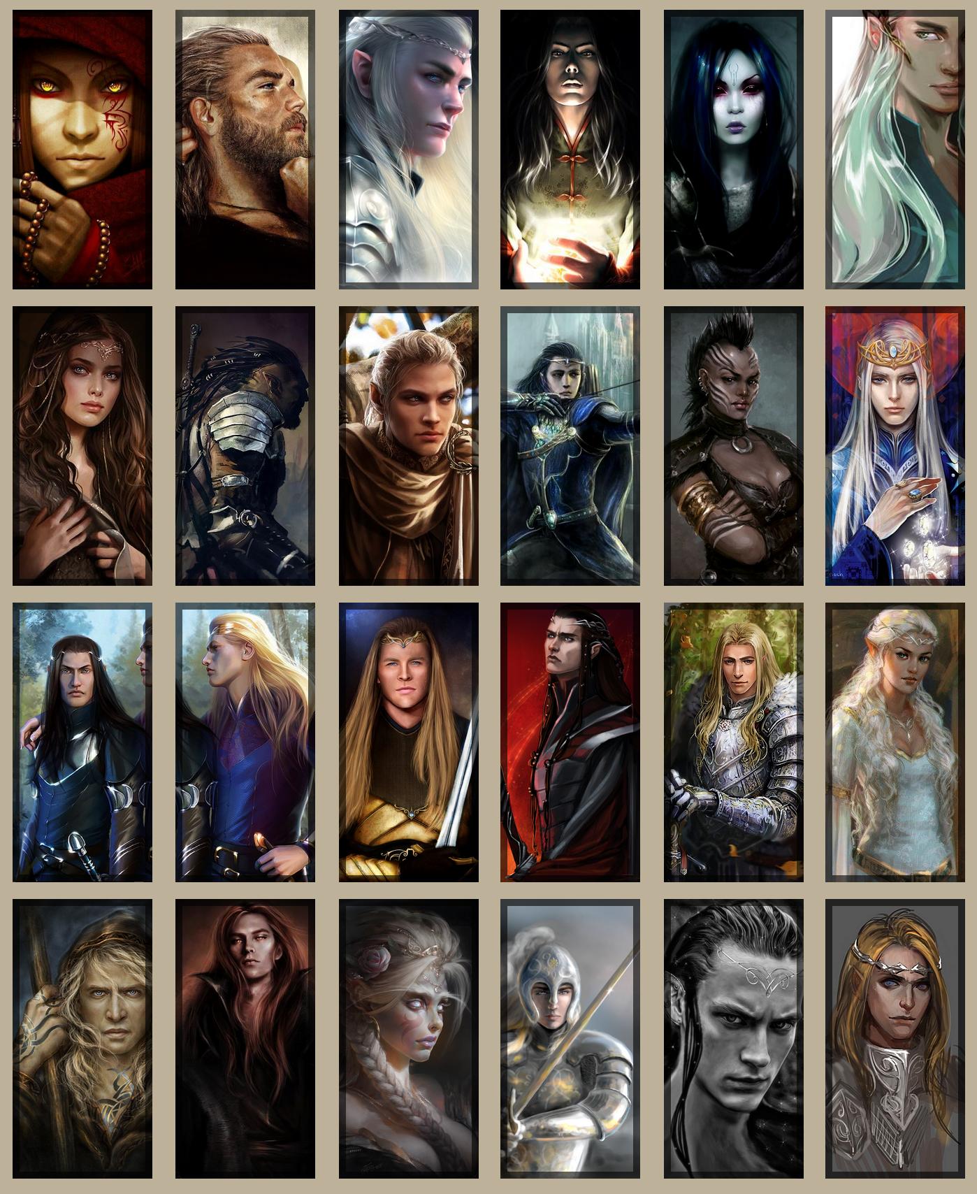 Galerie d'avatars - Inspiration et idées de personnage 991120avatars2