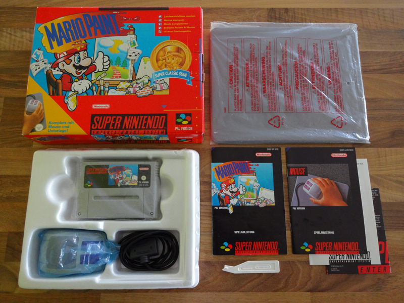 Prupru's Collection ! 100% Super Nintendo et 200% Super Comboy !! - Page 19 996733MarioPaintSuperClassicSerie