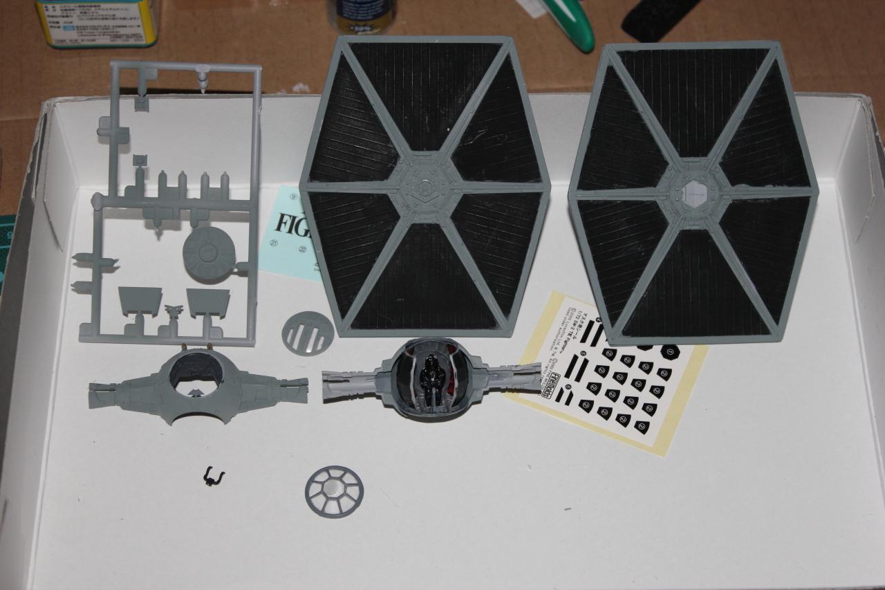 Star Wars [Tie Fighter] Fine Molds 1 : 72 997300DPP2009