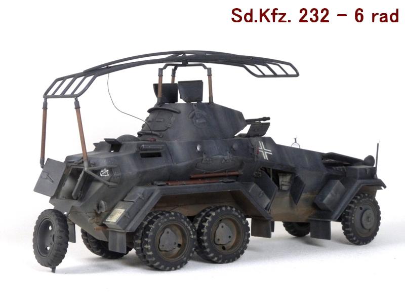 Sd.Kfz. 232 6 Rad - France 1940 - Italeri 1/35 998177P1040098