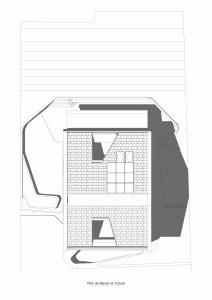 """Challenge thème : """"modélisation et rendu d'une maison atypique"""" - Silk37 & SB - ArchiCAD 17 - 3DS/V-Ray - Photoshop Mini_12264101MasseToiture"""