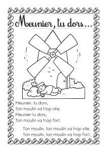 Fête du pain, moulin en formes géométrique, meunier... gabarits Mini_132266painmeuniertudors