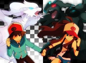 ChessShipping [Black/Touya x White/Touko] ♥ Mini_180691902932