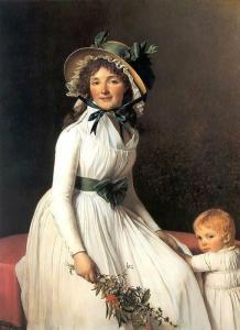 Jacques-Louis David peintre français 1748/1825 Mini_495440436pxMadameSeriziatJacquesLouisDavid1795