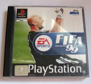 "Jeux ""multi-version"" black label PS1 Mini_517272FIFA991"