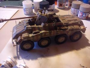 sdkfz - Sdkfz 234/4 Italeri 1/35 Mini_610266DSC0288