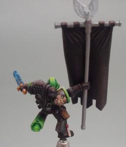 Aztec Warrios porte bannière Mini_633078SM47