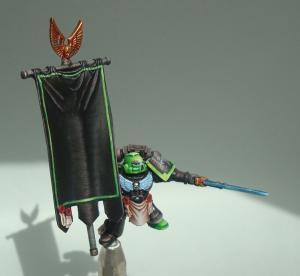 Aztec Warrios porte bannière Mini_887493SM50
