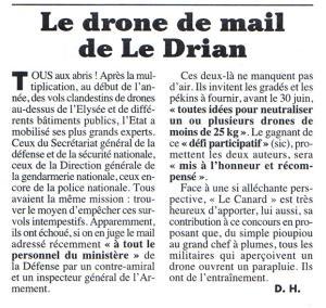 Survols de centrales nucléaires : ovni ou drones? - Page 3 Mini_887664Canard20150503