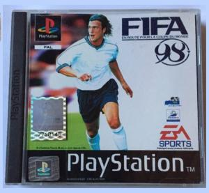 "Jeux ""multi-version"" black label PS1 Mini_946051FIFA981"