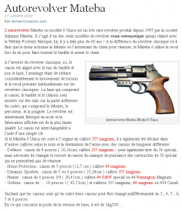 Importer / Faire importer une arme Mini_964775AutorevolverMatebaArmesOccasion