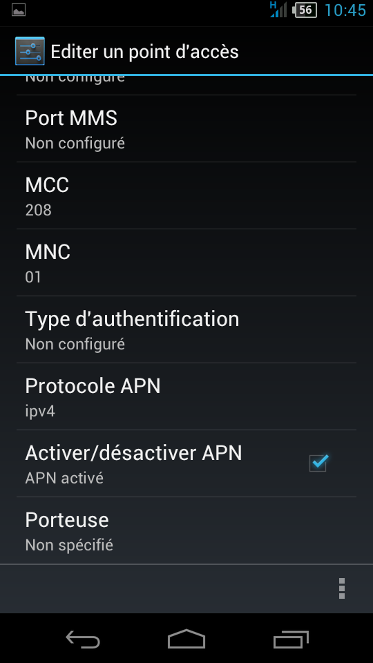 [AIDE] Diverses questions, SMS, MMS, et écran :) - Android 4.0, Acer E350 - Page 2 111157Screenshot20130111104511