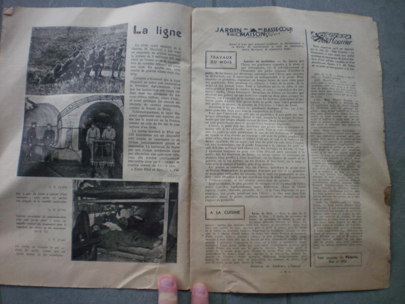 """Brochure Le Pèlerin 1940 Ligne Maginot """"On ne passe pas"""" (DERNIERE BAISSE DU PRIX) - ESC 1 Vendue 111379P2061534"""