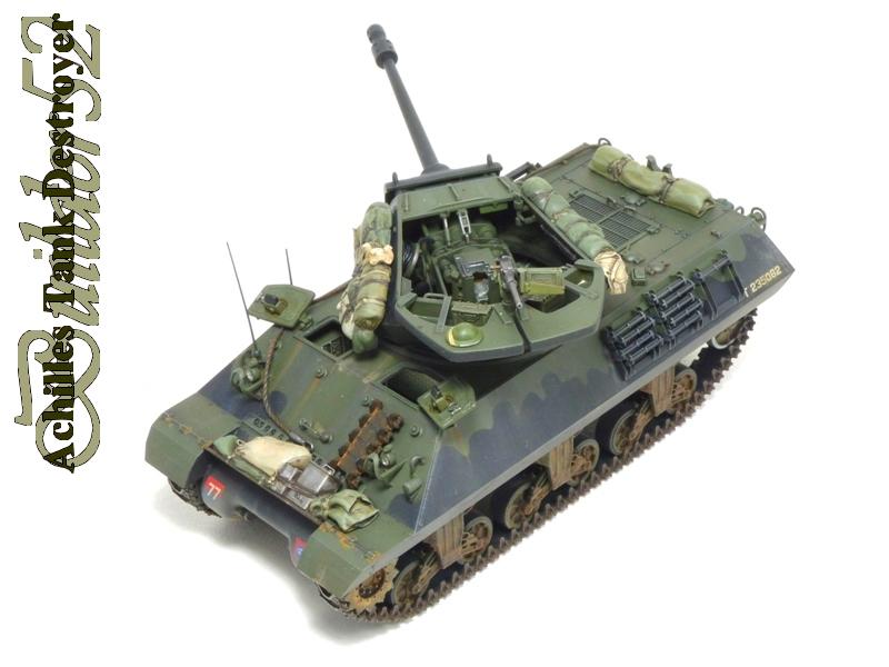 Achilles Tank Destroyer - Academy-Italeri + RB Model + set Blast 1/35 112798P1040534