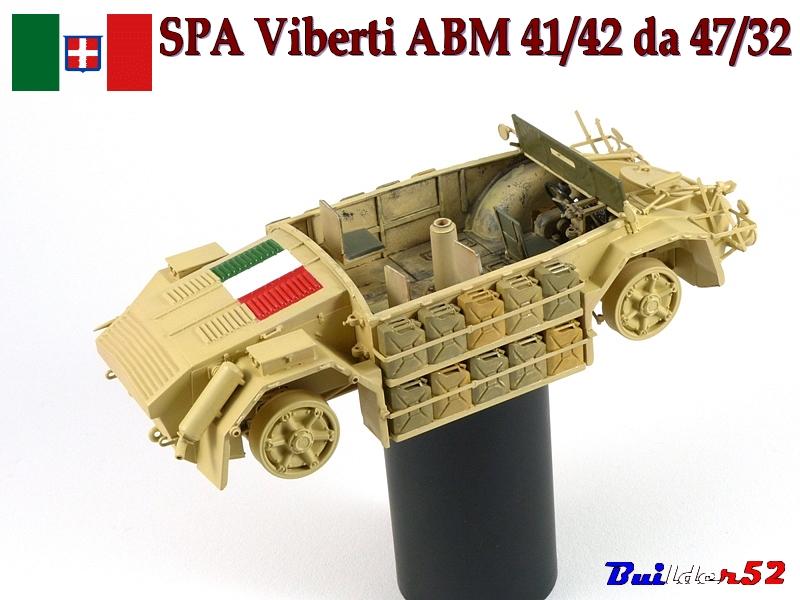 ABM 41/42  AT 47/32 - Italeri 1/35 115120P1050180