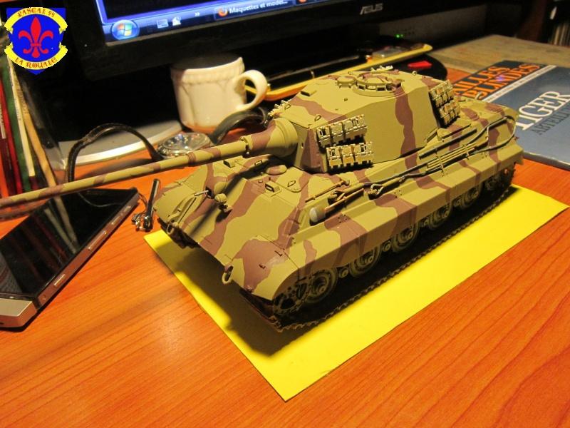 Sd.Kfz.182 King Tiger à tourelle Henschel de Dragon au 1/35e par pascal 94 115187IMG1178L